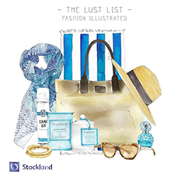 Stockland Shellharbour Gets an Illustrated Lust List
