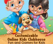 Mall Media's Online Kids Clubhouse