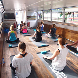 Does Your Mall Offer Floating Yoga?