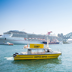 Centers Launch Shopping Ferry Service