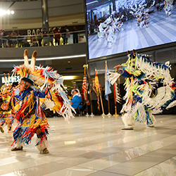 Mall of America Hosts Pow Wow Exhibition
