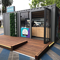 Center Picks Containers for Pop-up Program