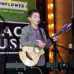 Singer Songwriters Step Up to the Mic