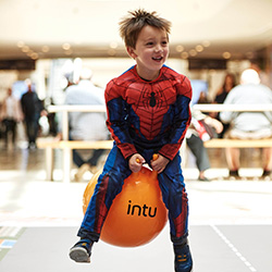 intu Visitors Hop while They Shop