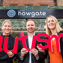 Howgate Receives Autism Award