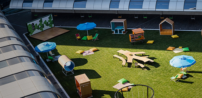 At Akmerkez, Playgrounds Aren't Just for Kids