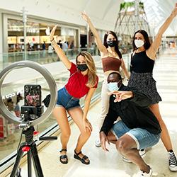 TikTok Gets Its Own Mall Set